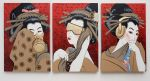 Wise Courtesan Triptych 2007 by Benedict Ernst